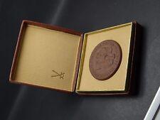 Alte Medaille ZUR ERINNERUNG AN DEN BESUCH IN MEISSEN im Etui (220117)