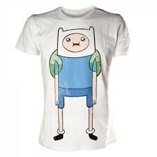 Adventure Time Finn Print Small T-shirt White