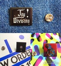 Joy Division / New Order 3 Pin Badge Set Manchester Factory Records