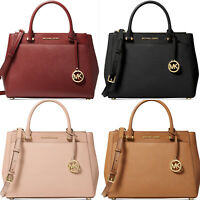 Michael Kors Adrienne Kellen Large Satchel Leather