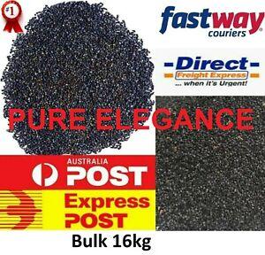 16kg Best Poppy Seeds Blue Black Health Food Energy Baking Super Strong Strain