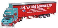 OXFORD HAULAGE SCANIA T CAB CURTAINSIDE J H YATES CUMNOCK-76TCAB003