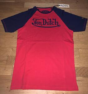 New! Von Dutch T Shirt (Navy Blue Logo) Size Small (S)