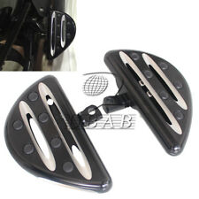 Rear Passenger Floorboards for Harley Touring Road King Street Glide Black