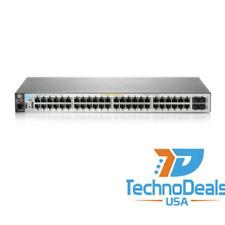 HP Enterprise J9772A 2530 48g Poe Switch - Lifetime