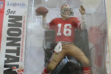 JOE MONTANA, NFL LEGENDS 2, RED JERSEY MCFARLANE, SAN FRANCISCO 49ERS