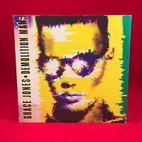 """GRACE JONES Demolition Man 1981 UK 7"""" Vinyl Single EXCELLENT CONDITION"""
