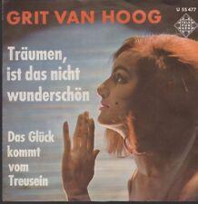 """Grit van Hoog Träumen, ist das nicht wunderschön 60`s Telefunken 7"""""""