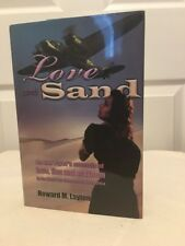 Love and Sand by Howard Layton, Signed, hb/dj, WW II, RAF, Very Good Condition