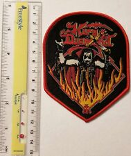 KING DIAMOND - Fire - Limited edition patch -WOVEN SEW ON PATCH - free shipping
