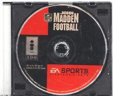 Video Game Only - JOHN MADDEN FOOTBALL - Panasonic 3DO