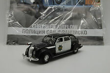 Chrysler AirFlow San Francisco Police Car Deagostini 1/43