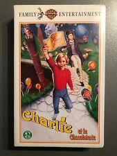 """VHS """"Charlie et la chocolaterie"""""""