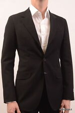 Armani Collezioni Solid Three Button 100% Wool Suits for Men
