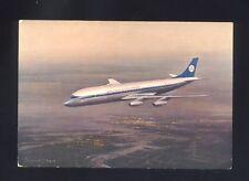 Cartolina KLM  Douglas DC 8 Intercontinental Jet ,aereo,non viaggiata  R