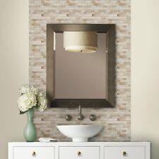 4 Pack Bathroom Decor Tiles Long Stone Design Peel And Stick Back Splash Elegant