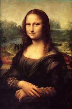 "Mona Lisa by Leonardo Da Vinci, Giclee Canvas Print, 8""x12"","