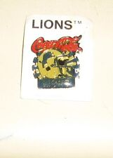 VINTAGE DETROIT LIONS  NEW Football Helmet Coca Cola Coke Pin