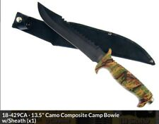 "Jungle Fever VI 13.5"" Fixed Blade TAC KNIFE Camo Handle W SHEATH 18-429CA NEW"