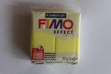 Fimo Modelliermasse FIMO® soft, Effekt transulcent gelb