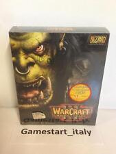 WARCRAFT III 3 REIGN OF CHAOS - PC - NUOVO SIGILLATO - NEW - VERSIONE ITALIANA