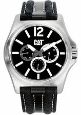 Caterpillar PK14962132 Mens CAT Black/White multi Analog date/day Watch