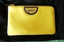 Mimco lemonade small echo pouch clutch wallet  💛
