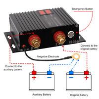 Dual Battery Isolator 150Amp Voltage Relay VSR Power Starter for UTV SUV RV Boat