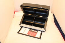 Discgear Selector 100e CD DVD Blu Ray Organizer Storage Box Black