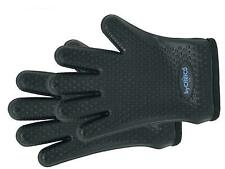 ByChefCD Silicone Grilling Gloves Black