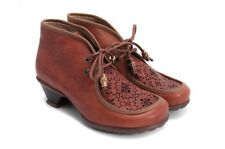 $339 JOHN FLUEVOG HOPES: DAYDREAM BOOTIES 7 BROWN LEATHER ANKLE BOOTS