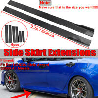 For Honda Civic Accord Si Type-R 10th Gen Coupe Sedan Side Skirts Extensions Lip