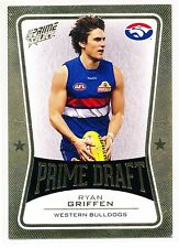2013 AFL SELECT PRIME DRAFT GOLD Ryan Griffen Western Bulldogs  No. 058 of 145