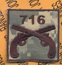 716th MP Military Police 101st Airborne HCI ACU patch D