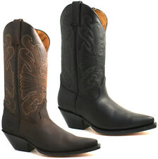 Grinders Slip On Cowboy Boots for Men