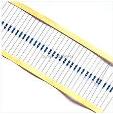 100pcs 1/4w Watt 10K ohm 10Kohm Metal Film Resistor 0.25W 100000R 1%