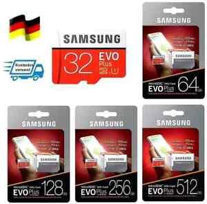 Samsung evo plus micro SD Speicherkarte   64GB 128GB 256GB 512GB 100MB/s