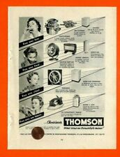"ELECTRO MENAGER "" THOMSON "" PUBLICITE ADVERTISING 1954"