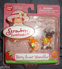 Strawberry Shortcake Berry Sweet Wearables Orange Blossom w/cute Keychain 2005