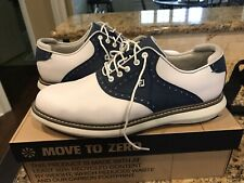 New listing FootJoy Traditions Golf Shoes NEW White and Navy Saddle