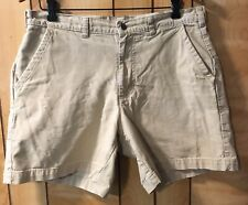 """Patagonia M's•STAND UP Shorts 7""""•57228•Cotton Canvas•Men's 34•Pelican•(Msrp $69)"""