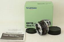 Voigtlander NOKTON classic 40mm F1.4 VM For Leica M  [Near N] (06-P37)