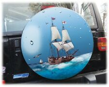 Barca mare ruota di scorta pneumatici COPERTURA COVER riferimento HONDA SUZUKI VITARA JIMNY 68x21