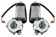 1983-1993 Mustang Convertible Rear Quarter Window Motors & Harness - Pair LH RH
