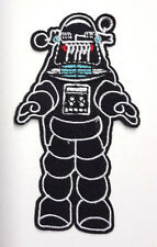 """Forbidden Planet Robby the Robot 4"""" Die Cut Embroidered Patch-USA Mail(FBPA-002)"""