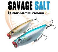 Savage Gear Salt Lure Bass Fishing 3D Pop Walker Minnow Top Water Surface Bass