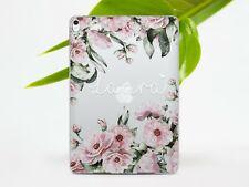 Monogram iPad Air 3 2019 Mini 3 4 5 Cover Floral iPad Pro 12.9 10.5 9.7 Gel Case