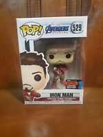 Iron Man Funko Pop 529 2019 Fall Convention Exclusive With Protector