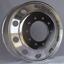 """Aluminum19.5x6 10 Lug Dodge Ram 4500/5500 """"Alcoa Style"""" Round Hole Design"""