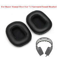 1 Pair Replacement Cushion Ear Pads For Razer Tiamat 7.1 Surround Sound
